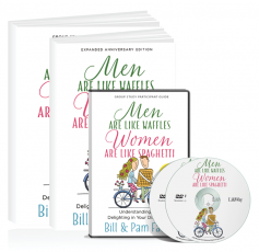Men Are Like Waffles, Women Are Like Spaghetti 7-Week Small Group Curriculum Kit
