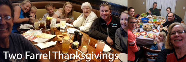 2 Thanksgivings